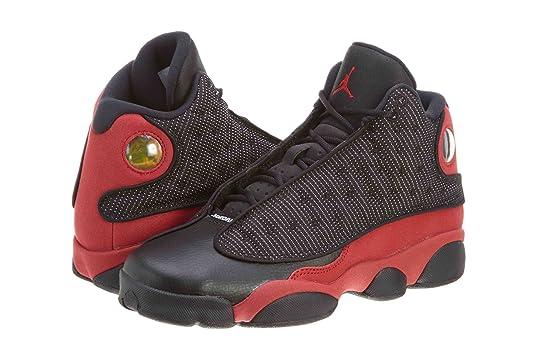 best website a1aad a676c Amazon.com  Nike Air Jordan 13 Retro (GS) Grade School sizes   Squadron  Blue   414574-405  Shoes  Shoes