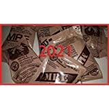 2021 MREs (Meals Ready-to-Eat) Genuine U.S. Military Surplus Assorted Flavor (4-Pack)