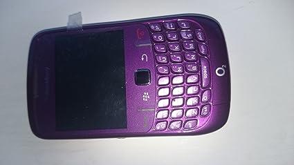 Blackberry Curve 8520 Gemini Téléphone portable Lecteur Multimédia Appareil photo 2 Mpix Bluetooth Wifi Purple