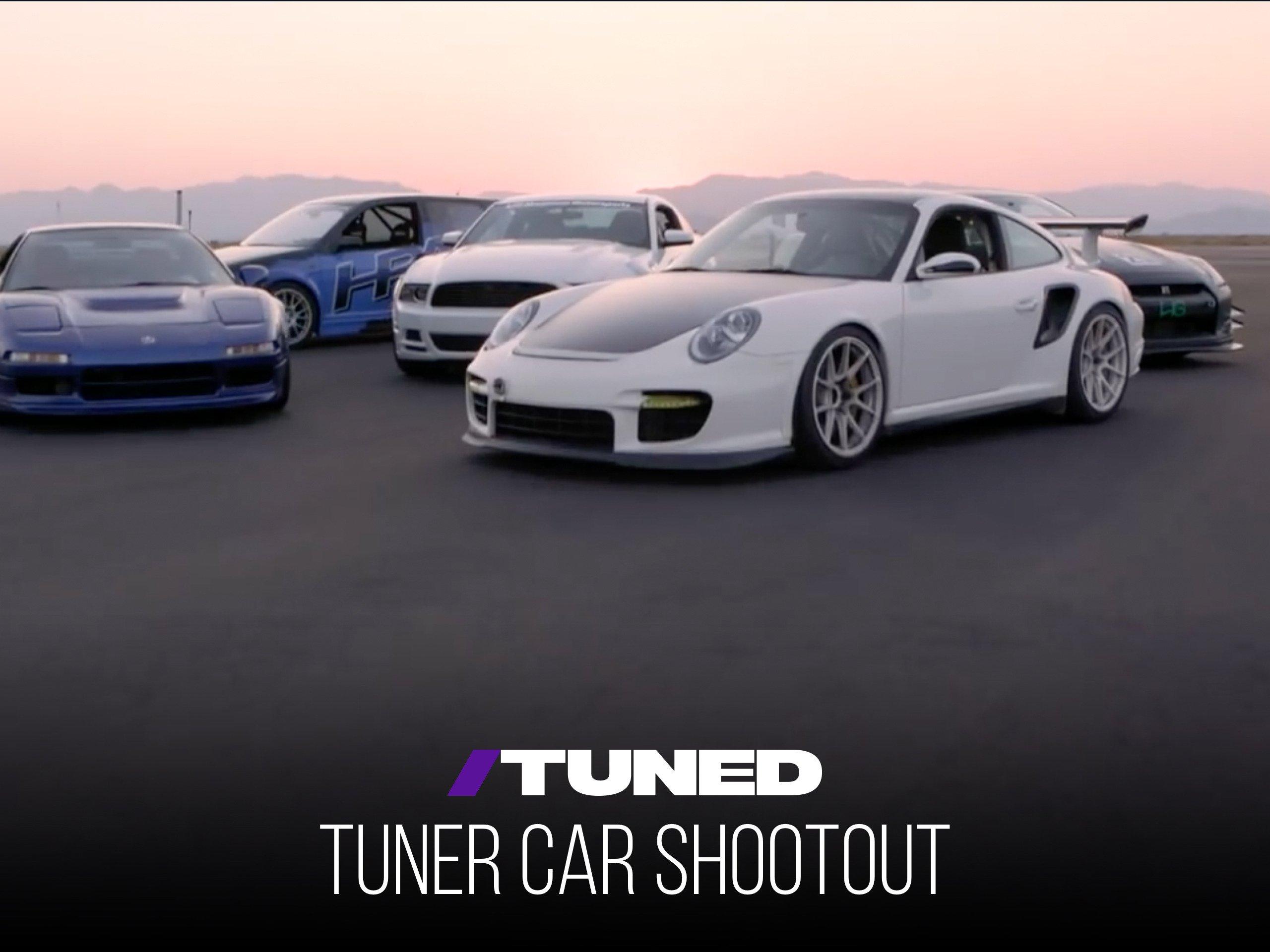 Tuned: Tuner Car Shootout