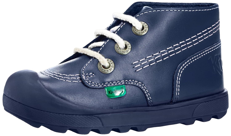 Kickers Plunk Boot LTHR IU Unisex-Kinder Stiefel