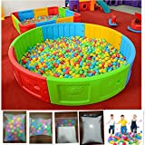 100pcs Soft Plastic Colorful Children Kids Secure Ocean Balls Baby Pits Swim Toys 5.5cm Kid Ocean Ball