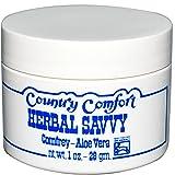 Country Comfort, Herbal Savvy, Comfrey-Aloe Vera, 1 oz (28 g) - 2pc