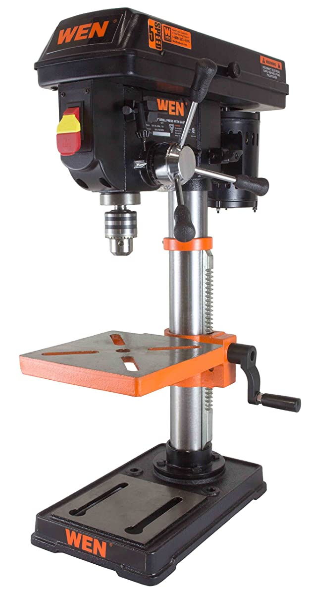 WEN 4210 Drill Press with Crosshair Laser, 10-Inch