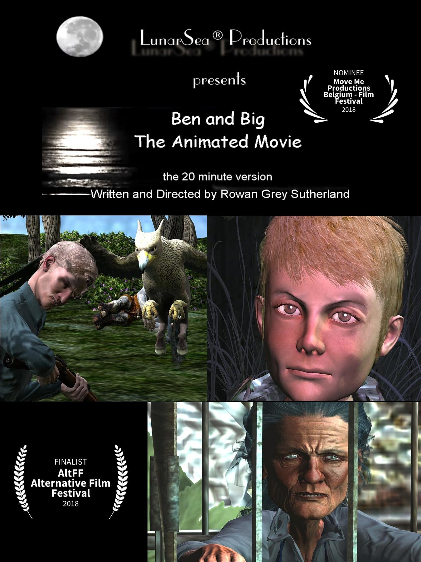 Ben and Big: The Animated Movie (20mins)