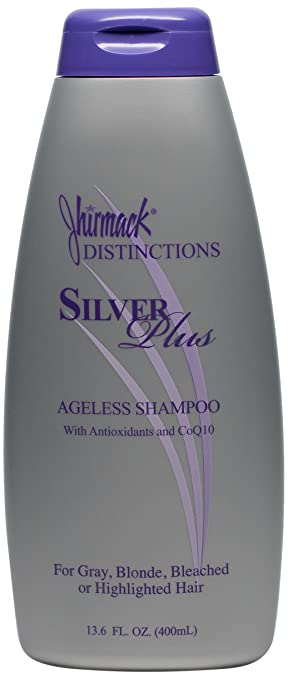Jhirmack Distinctions Silver Plus Ageless Shampoo 13.6 oz