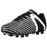 Vizari Baby Impact FG Soccer Shoe, Black/White, 8.5 Regular US Toddler (Color: Black/White, Tamaño: 8.5 Regular US Toddler)