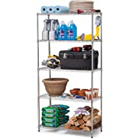 Work Choice 5-Tier Commercial Wire Shelving Rack