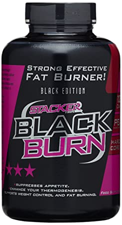 Stacker2 Black Burn (120 Kapseln), 1er Pack (1 x 120 g)