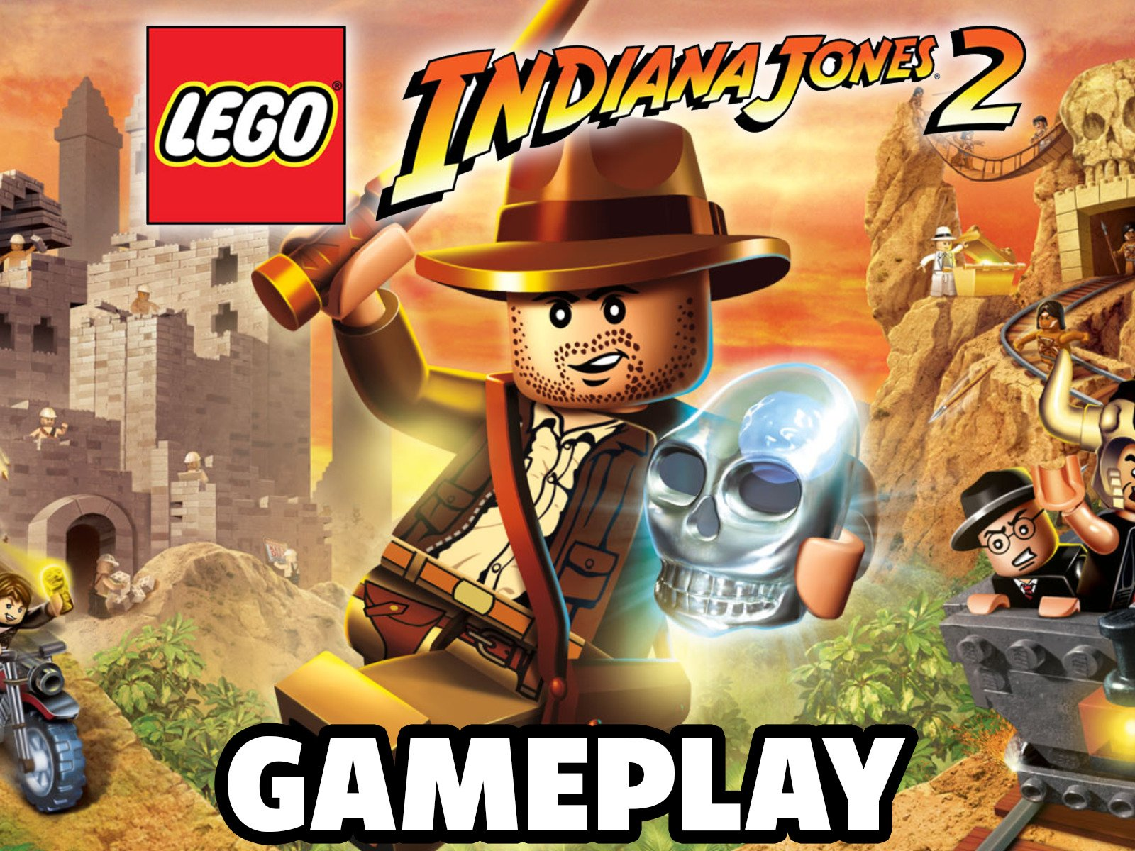 Clip: Lego Indiana Jones 2 Gameplay - Season 1