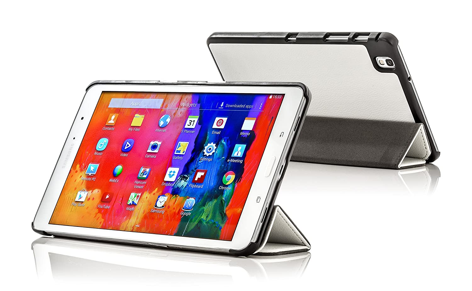 Leather-Smart-Folding-Case-Cover-for-Samsung-Galaxy-Tab-PRO-8-4-T320 miniatuur 54