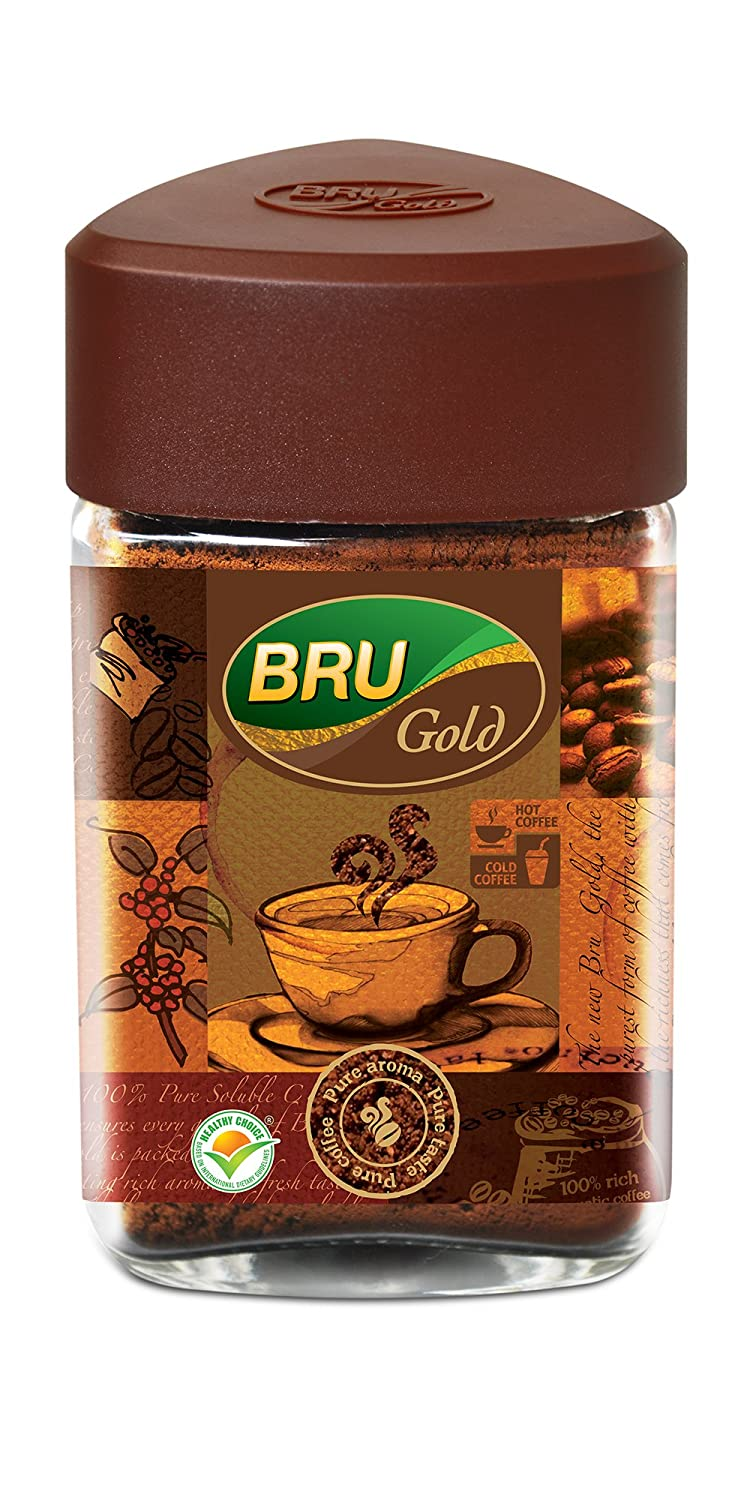 Up to 35% off Household items | Bru Gold Instant Coffee, 100g By Amazon @ Rs.183