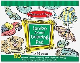 Melissa amp Doug Jumbo Coloring Pad - Animals