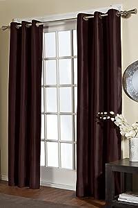Residence Dupioni 2-Pack Grommet Panel