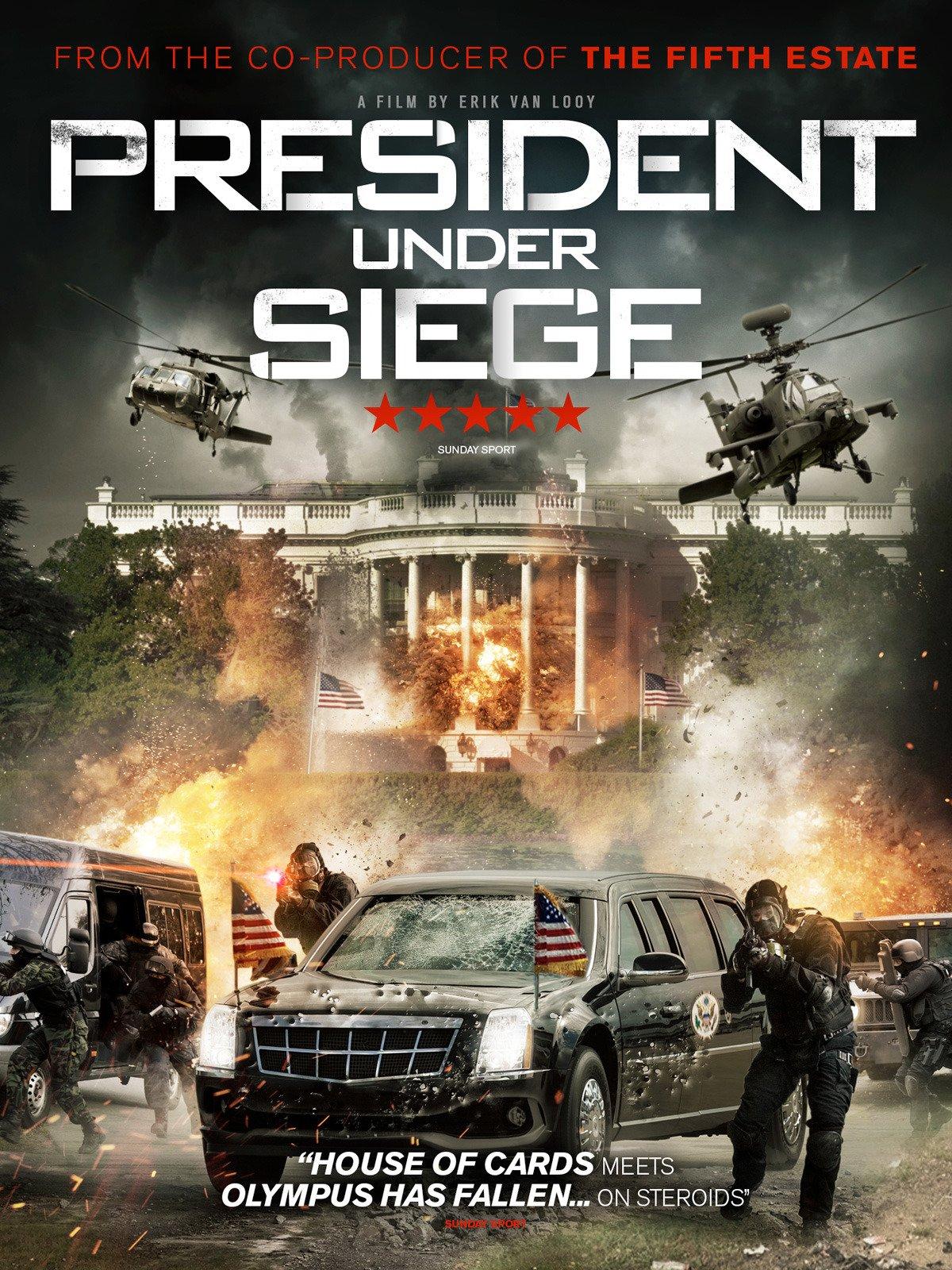 President Under Siege on Amazon Prime Video UK
