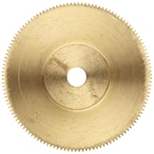 Boston Gear Spur Gear, Brass, Inch, 6 Pitch