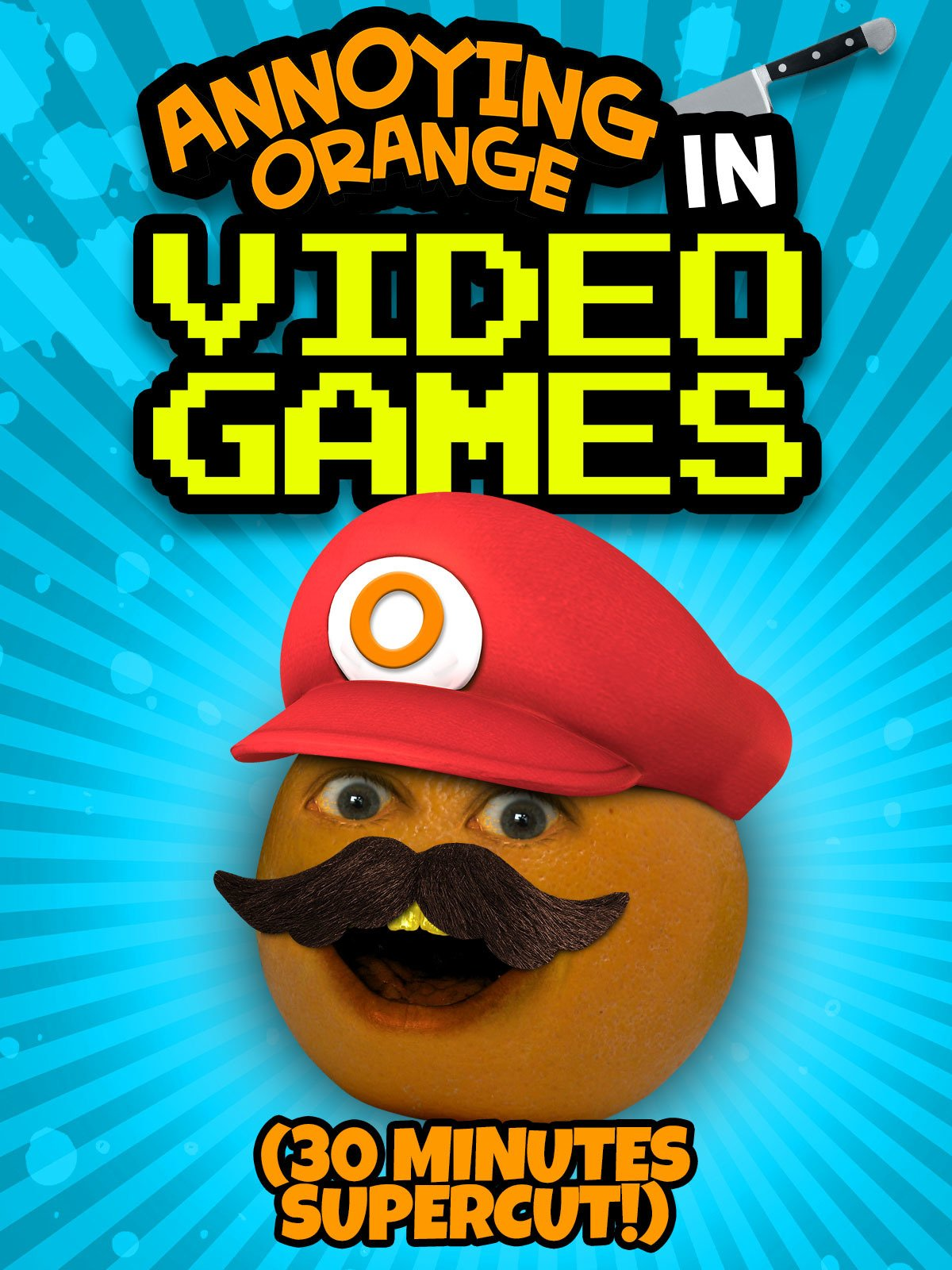 Annoying Orange in Video Games (30 Minutes Supercut!)