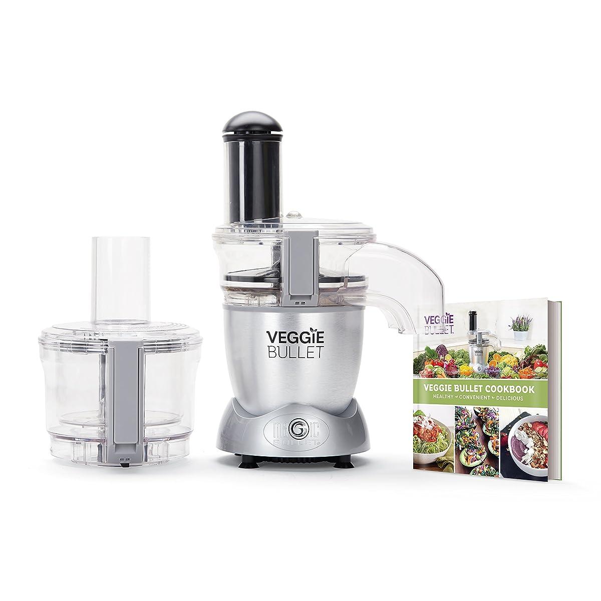 Veggie Bullet Electric Spiralizer & Food Processor, Silver