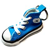 Converse Key Chain All Star Chuck Taylor Sneaker Keychain Authentic (Blue) (Color: Blue, Tamaño: One Size)