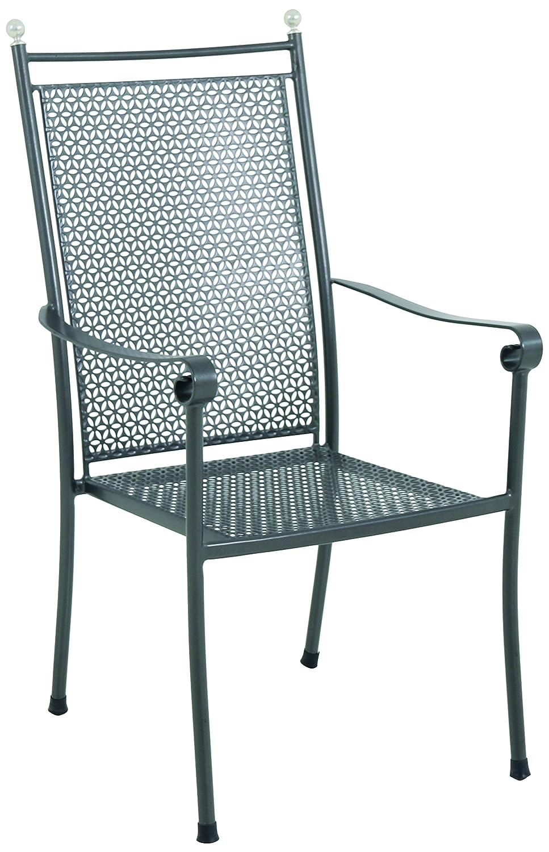 MWH Das Original 154127 Stapelsessel, Excelsior, grau günstig online kaufen