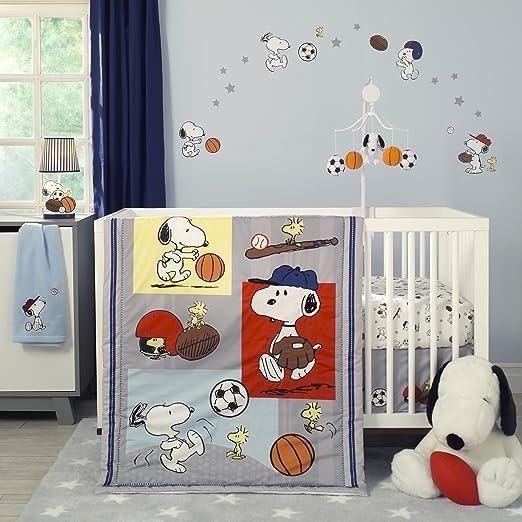 Bedtime Originals Snoopy Sports Baby Bedding