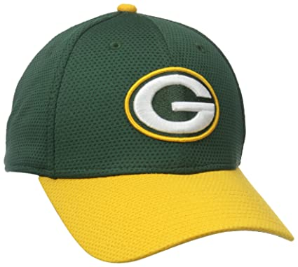 NFL Green Bay Packers 2015 Team Color Training Camp 39Thirty Stretch Fit Cap, Medium/Large, Green
