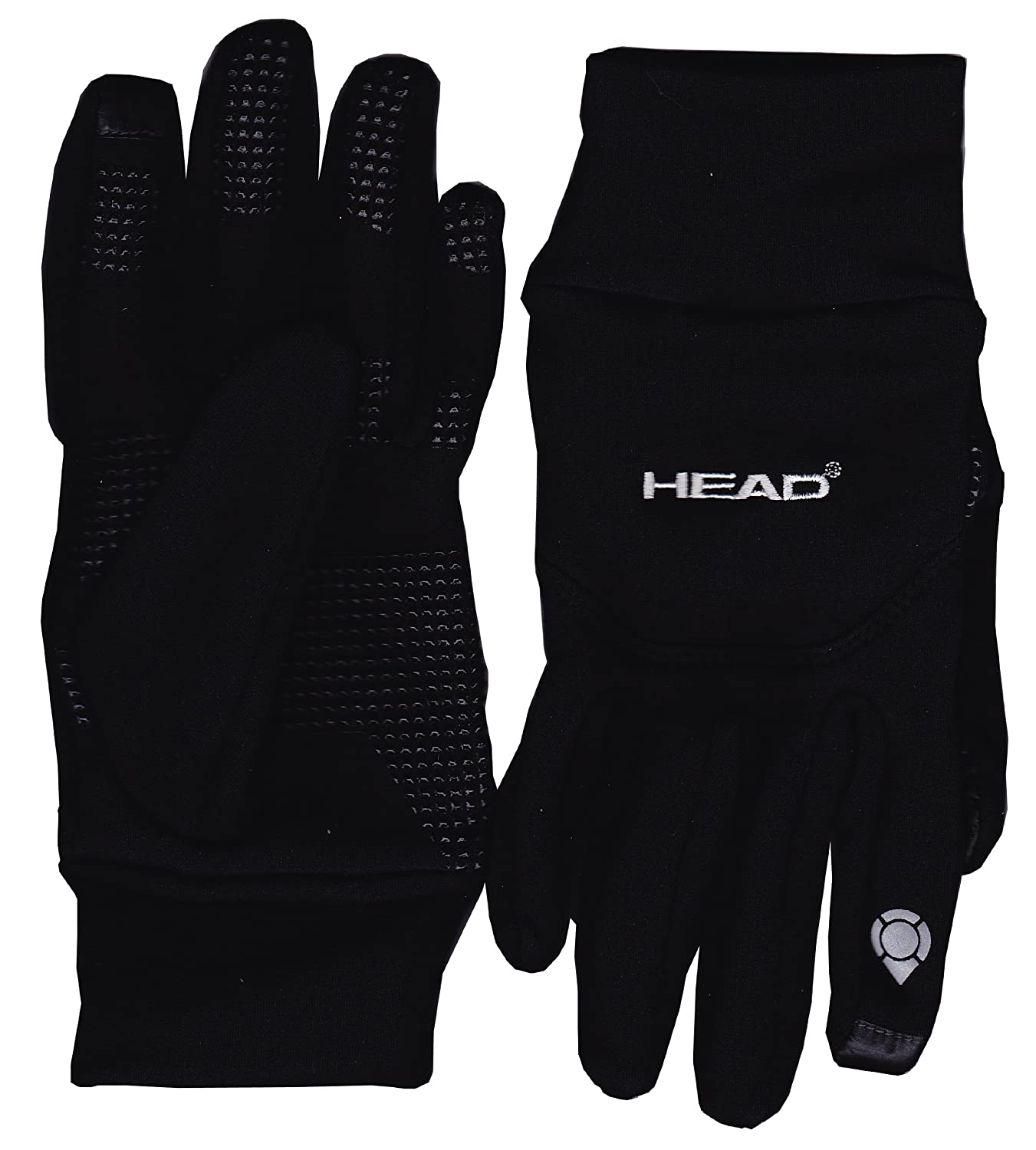 "Head Multi Sport Gloves With Sensatec Black Large: Head Digital Sport Running Gloves With Sensatec ""Touch"