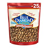 Blue Diamond Oven Roasted Almonds, Smokehouse, 25 Ounce