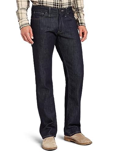Dockers Men's D2 Straight Fit 5 Pocket Denim Pant, Rigid Denim, 31x32