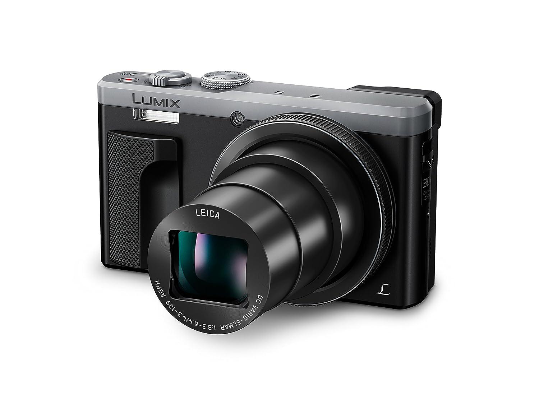 Panasonic DMC-ZS60S LUMIX 4K Digital Camera 18 Megapixels, WiFi & Electronic Viewfinder (Silver)