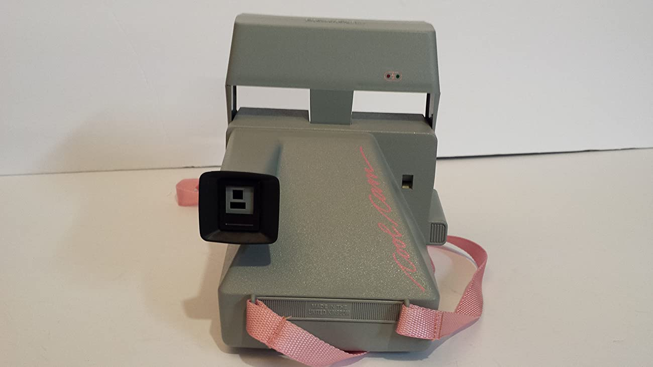 Vintage Polaroid Pink & Gray Cool Cam 600 Instant Camera 3