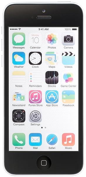 Apple iPhone 5c, White 16GB (Unlocked)
