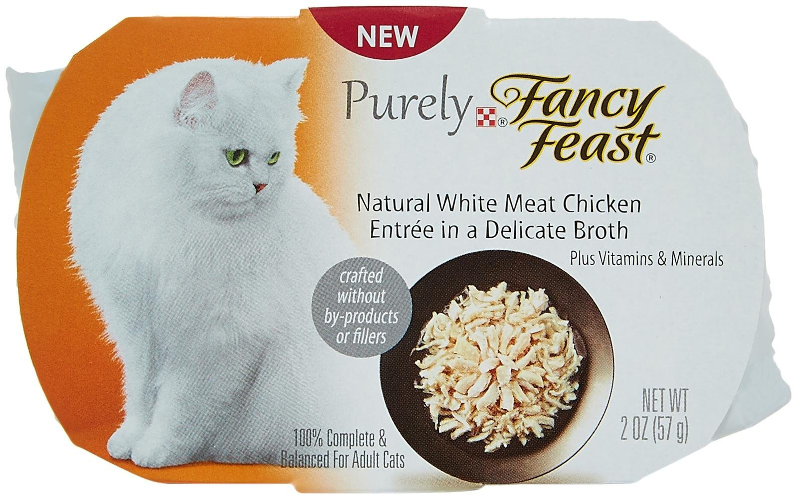 Fancy Feast Natural White Meat Chicken Entrée In A Delicate Broth