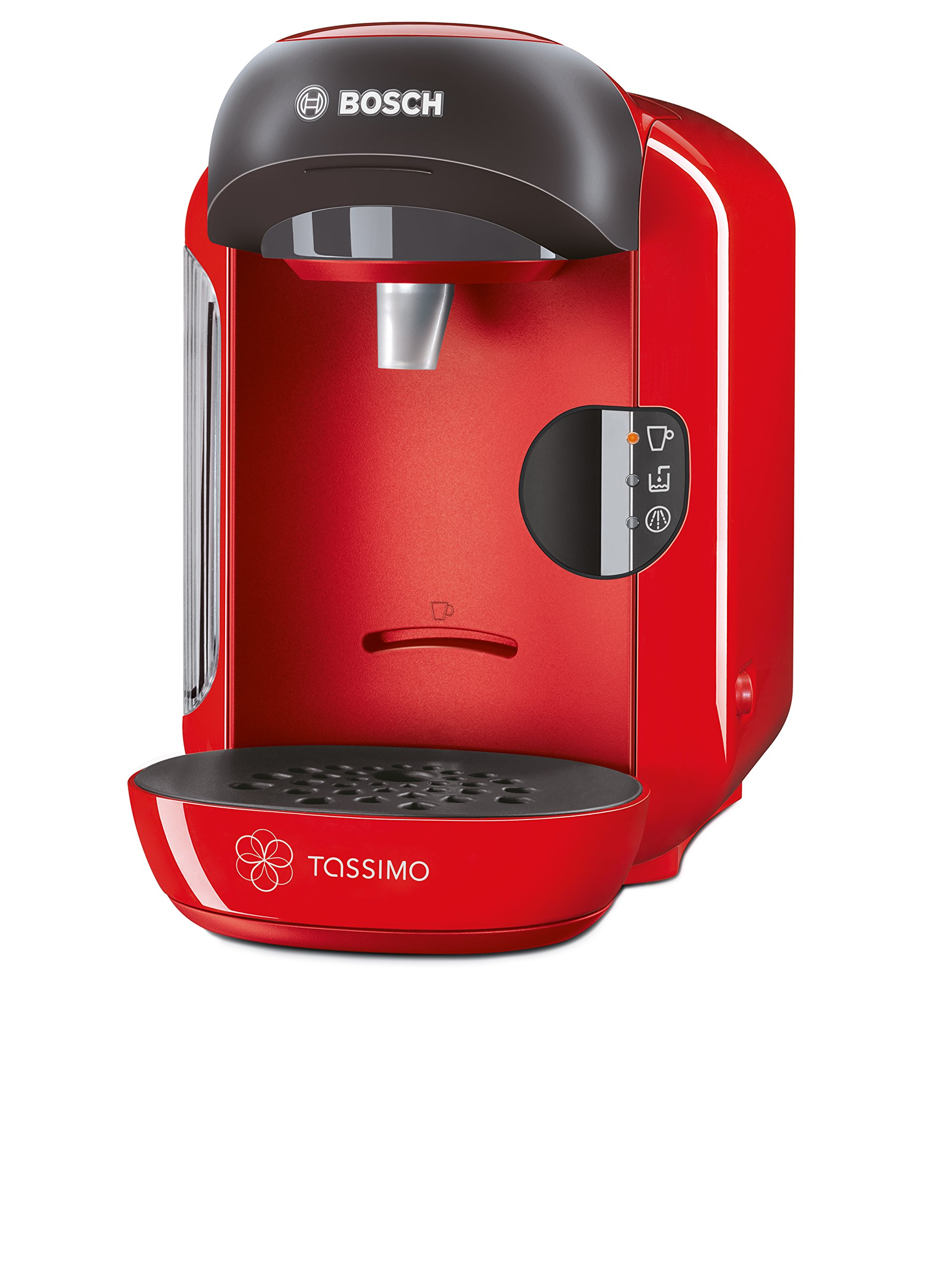 Bosch Tassimo TAS1253GB Vivy Hot Drinks and Coffee Machine 1300 W - Red Red