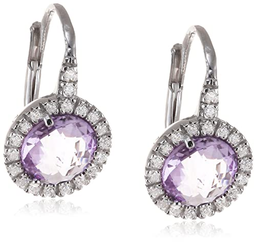 Nomination SOFIA Women's Pull Through Earrings - 925 Silver with Purple Zirconia - 142331 / 001