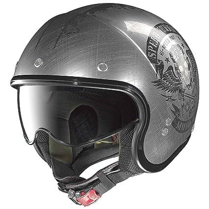 Nolan n 21 sPEED drogués casque demi-jet, couleur :  gris/noir, taille :  s