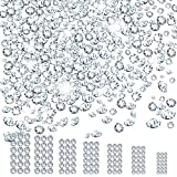 Wholesale 10080 Pcs Nail Art Rhinestone Decorations, Teenitor Swarovski-Like Nail Gems Sparkly Glass Stone Glitter Beads Round Diamonds For Craft Jewelry (Crystal Clear ab,SS3 4 5 6 8 10 12) (Color: crystal clear)
