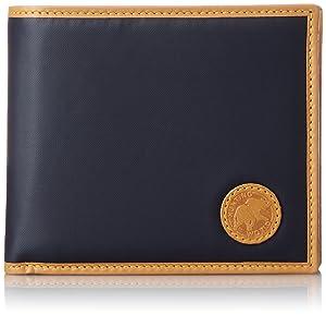 [ハンティングワールド] HUNTINGWORLD 二つ折り財布(小銭入付き) 【並行輸入品】 310-16A NAVY (ネイビー)