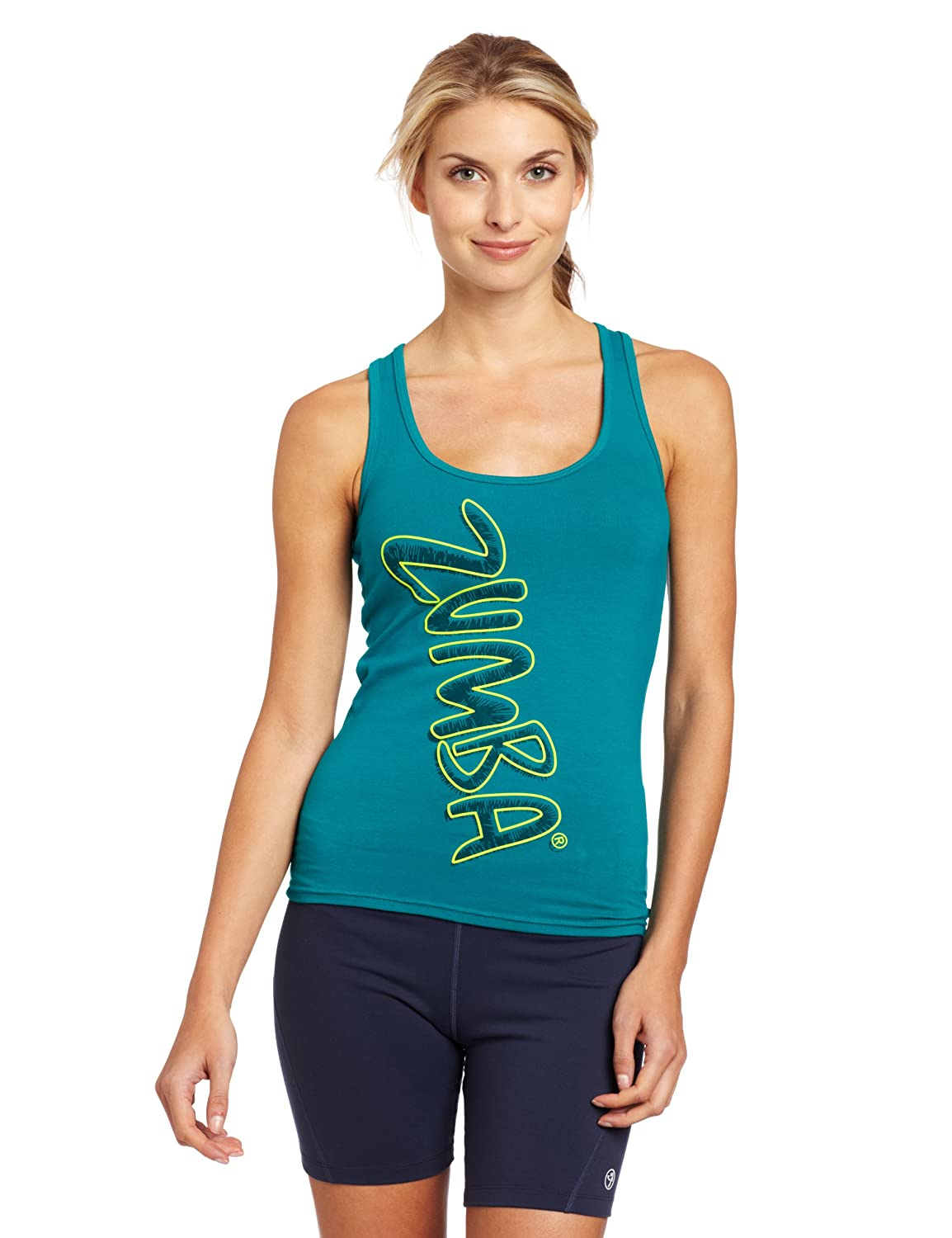 Zumba Women's Fitness LLC Pop Racerback Tank Top