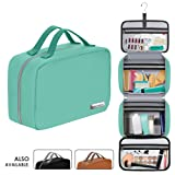 Leather Hanging Travel Toiletry Bag for Men and Women (Cruelty-Free) | Large (34