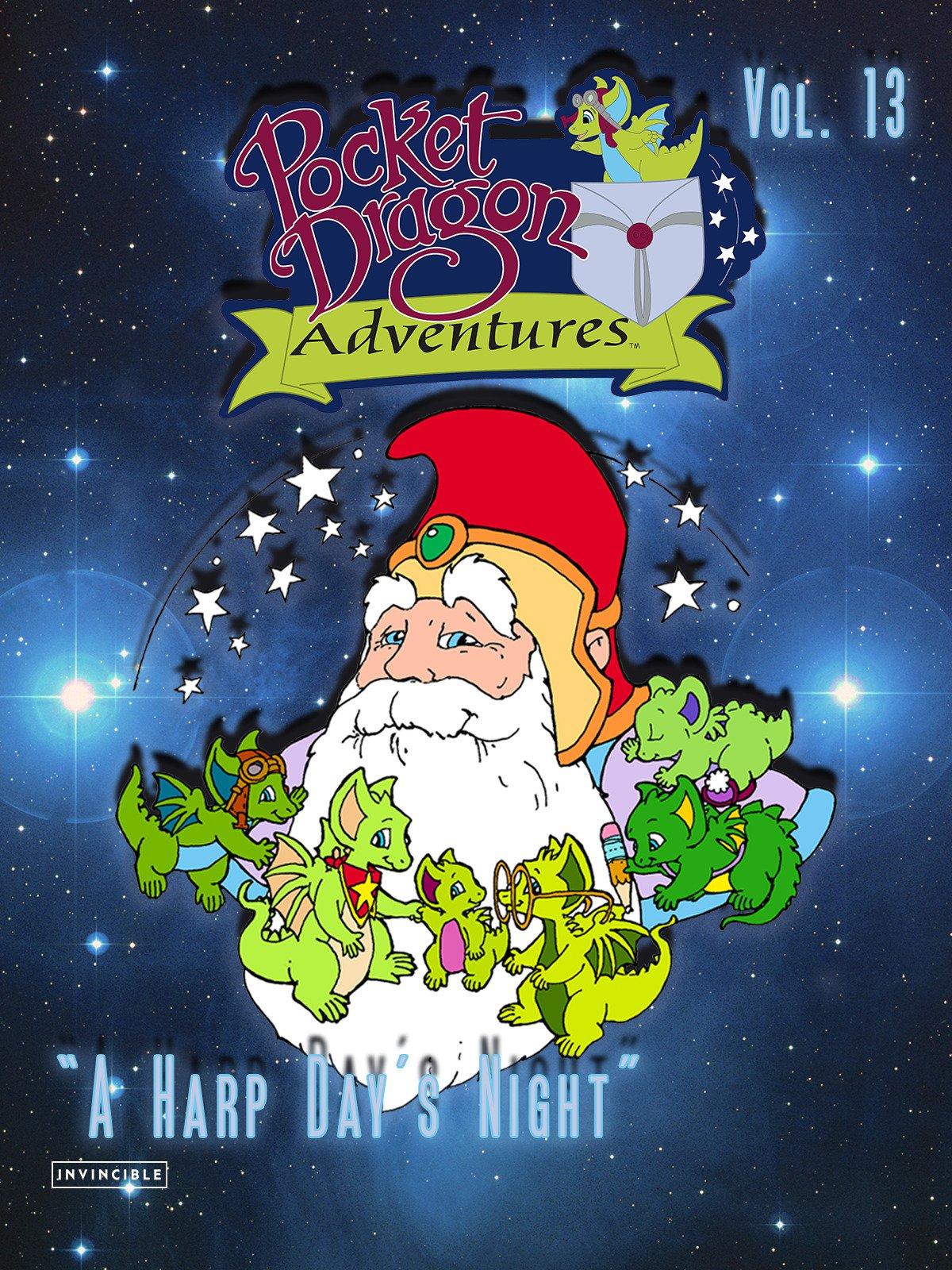 Pocket Dragon Adventures Vol. 13A Harp Day's Night