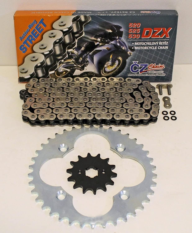 1987 1988 1989 HONDA TRX250X TRX 250X CZ DZX X RING CHAIN AND SPROCKET 14/36