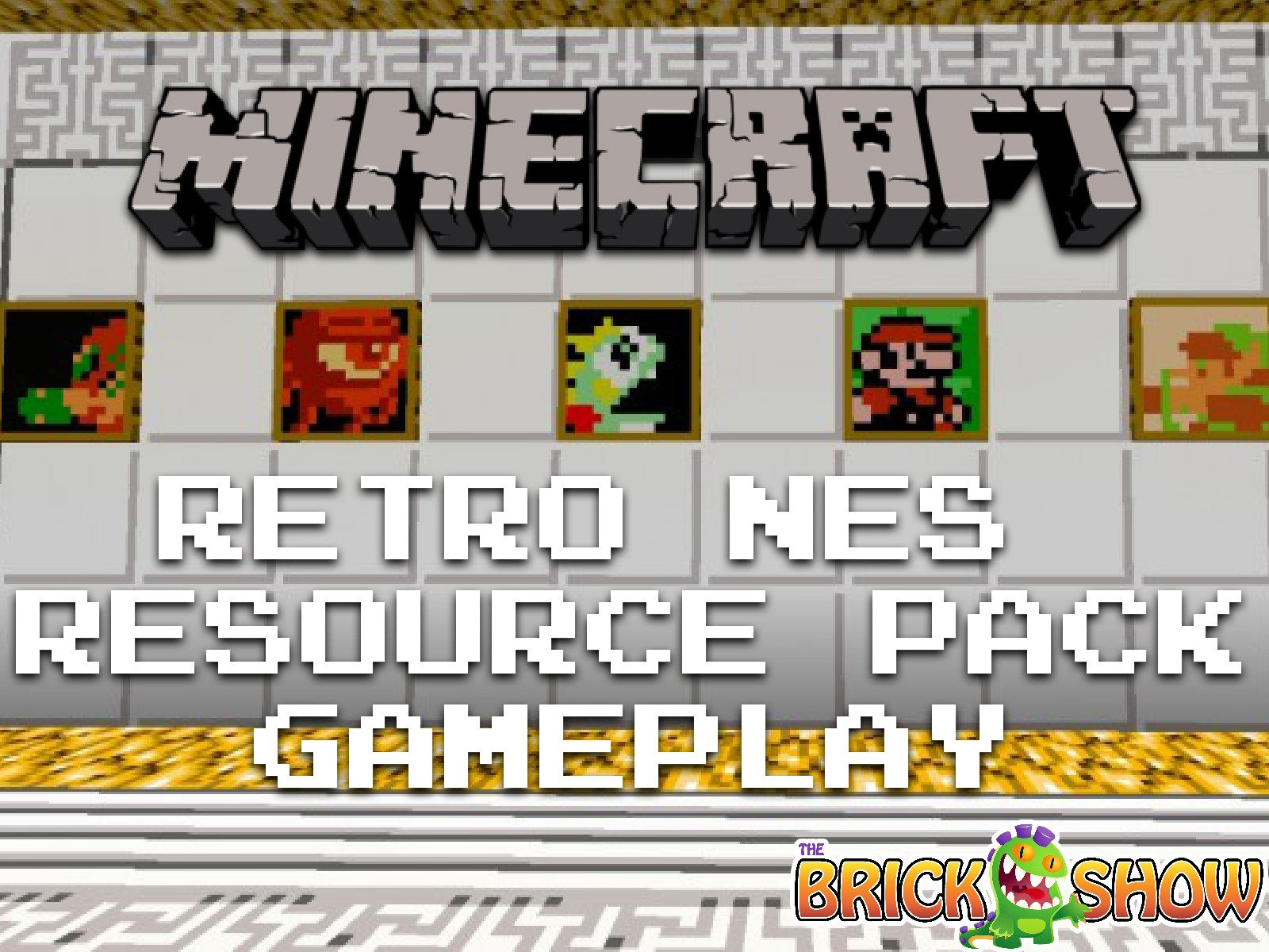 Clip: Minecraft Retro Nes Resource Pack Gameplay - Season 1