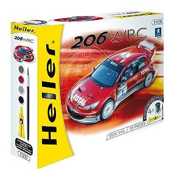 Heller - 50113 - Maquette - Auto - Echelle 1/43 - Peugeot 206 WRC03