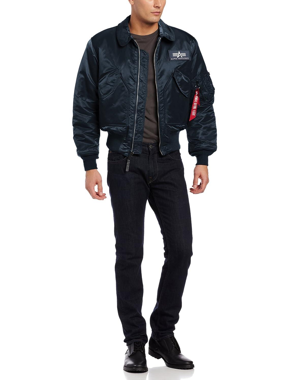 Мужская верхняя камуфляжная одежда Alpha Industries Men's CWU 45/P Flight Jacket