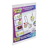 Shrinky Dinks Creative Pack 10 Sheets Frosted White Kids Art and Craft Activity