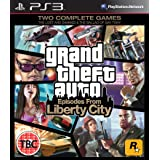 Grand Theft Auto: Episodes From Liberty City (PS3) [UK IMPORT]