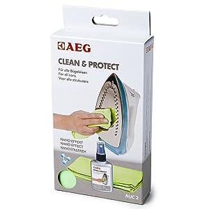 AEG AUC2 Clean & Protect - Producto limpiador para base de plancha   Comentarios de clientes y más información