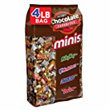 SNICKERS, TWIX, 3 MUSKETEERS & MILKY WAY Minis Size Candy Variety Mix, 240 Pieces (Tamaño: 64 Ounce (Pack of 1))