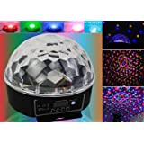 Stage Lighting Digital LED RGB Crystal Magic Ball Disco Dj Effect Light